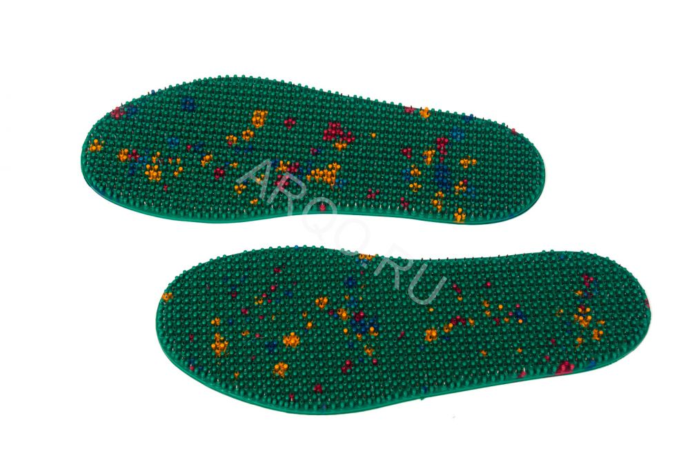 «Стелька-скороход», размер 40-43, 2 шт, аппликатор Ляпко (Размер: 40-43, тип аппликатора: Стельки для ног)